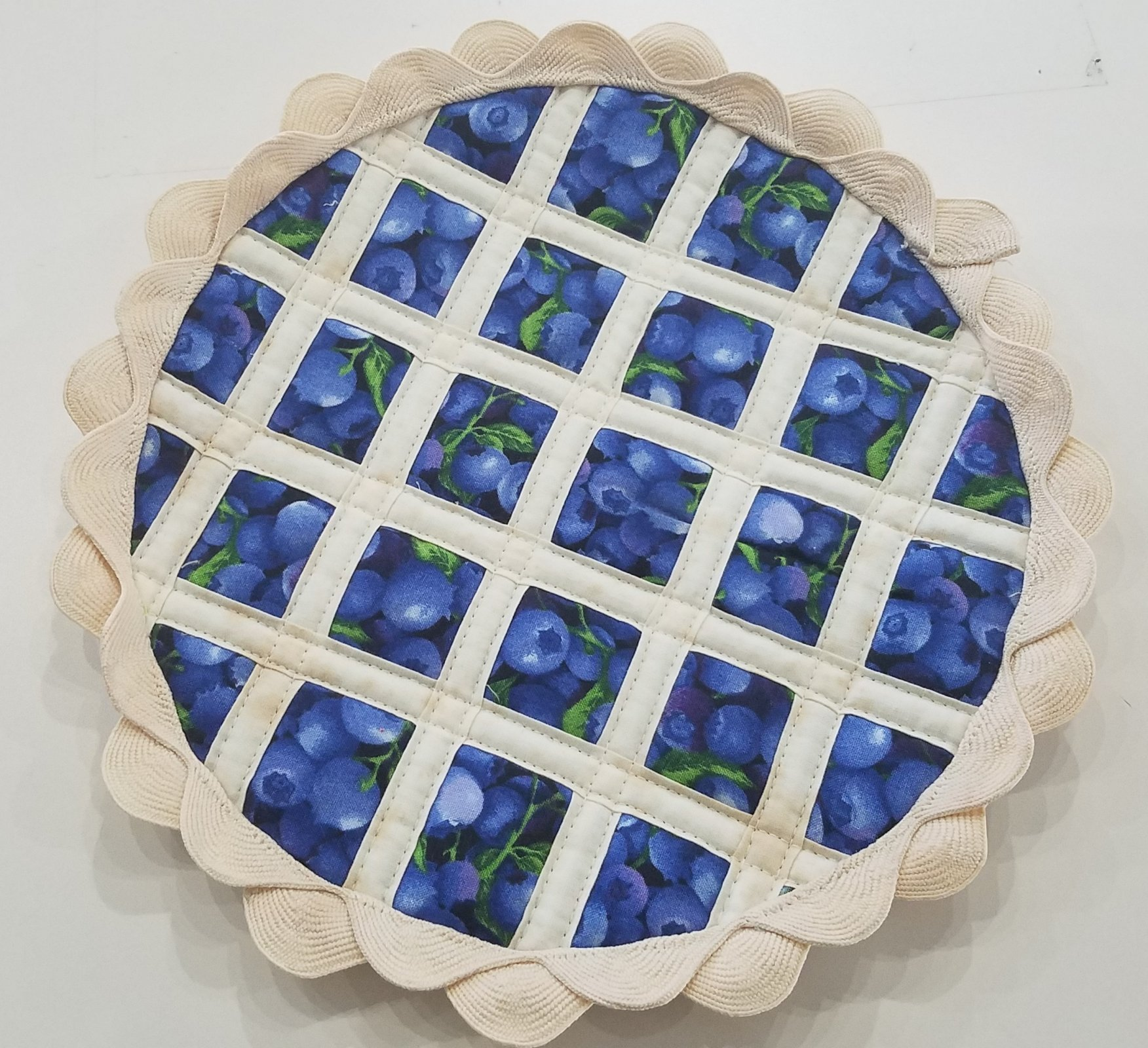 Hot Pad Pie Kit - Blueberry