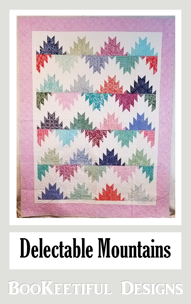 Delectable Mountains Pattern