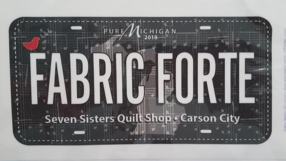 Fabric Plate - Fabric Forte