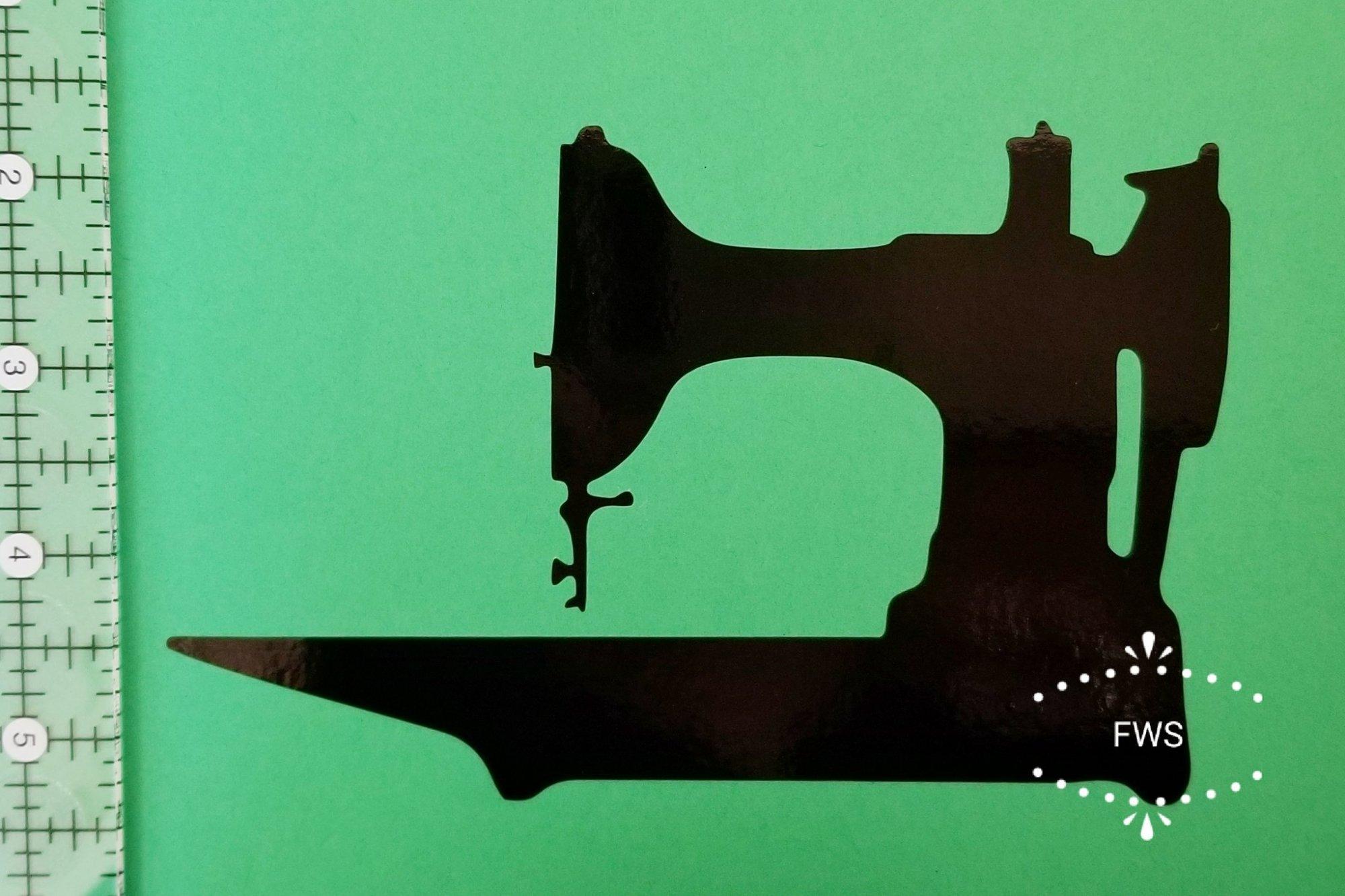 Featherweight Window Sticker - Black