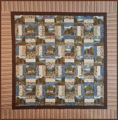 Grandpa's Cabin Pattern