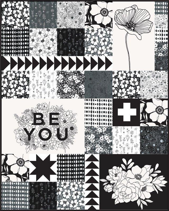 Illustrated Squares Kit 57 x 71
