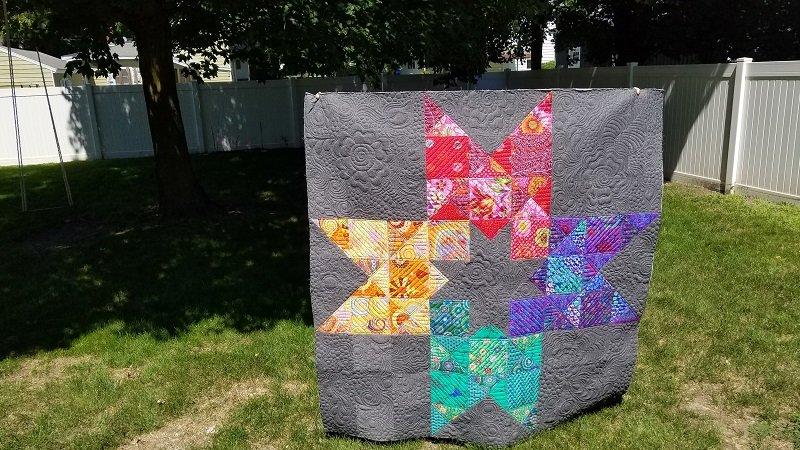 In 2 Stars Quilt Kit