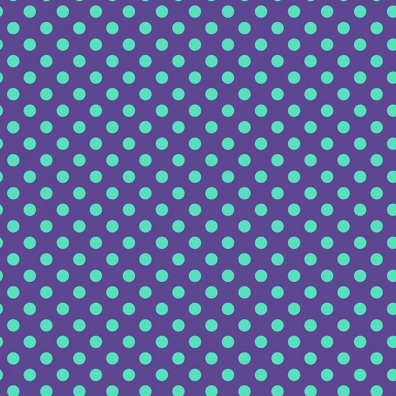 Tula Pink - ALL STARS - Pom Poms - Iris PWTP118