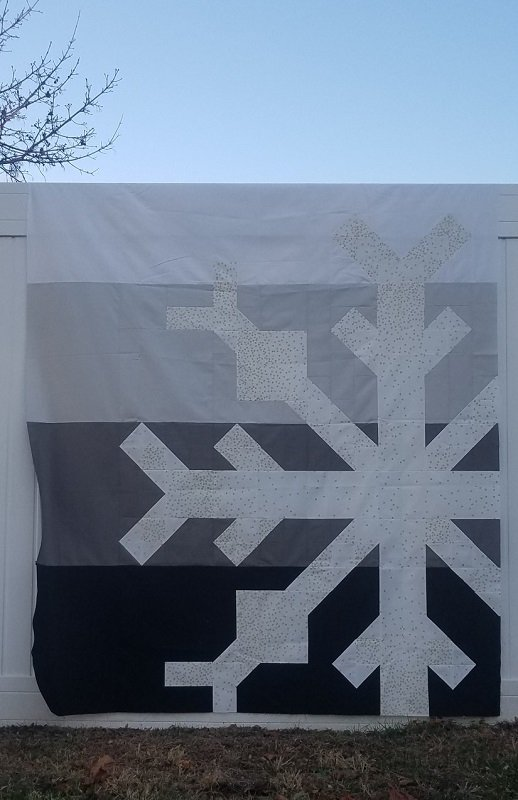 Katie's Snowflake Fabric Kit & Pattern