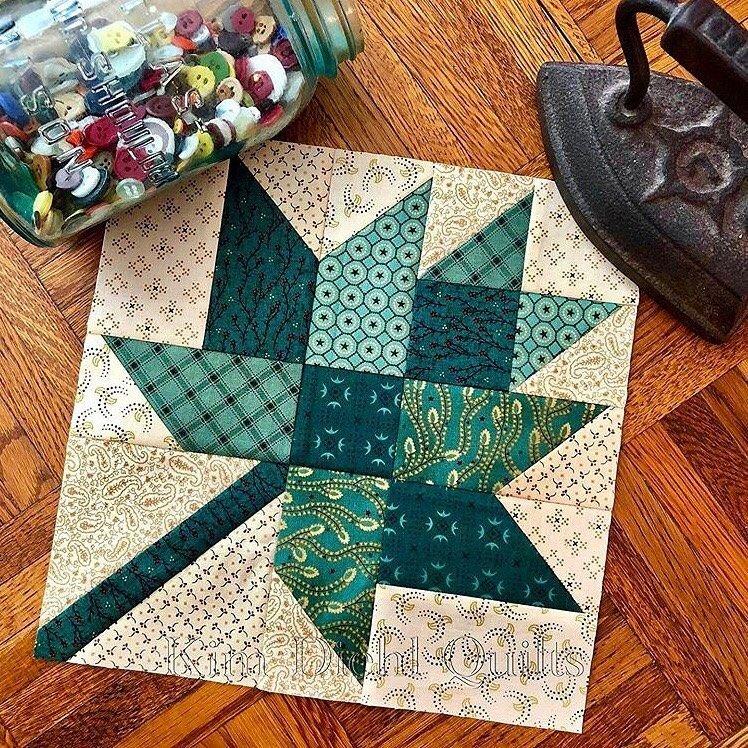Maple Leaves Fabric Kit 64.5 x 64.5