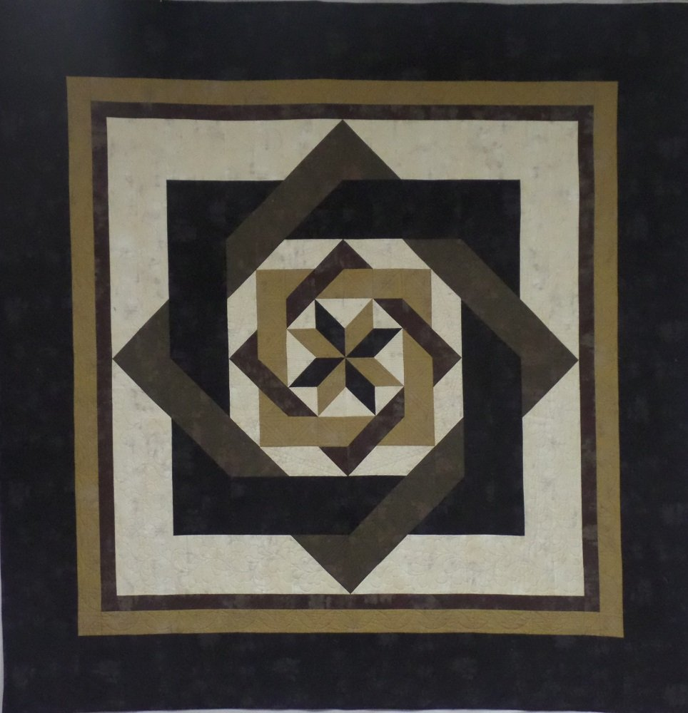 Labyrinth Quilt Kit -Queen