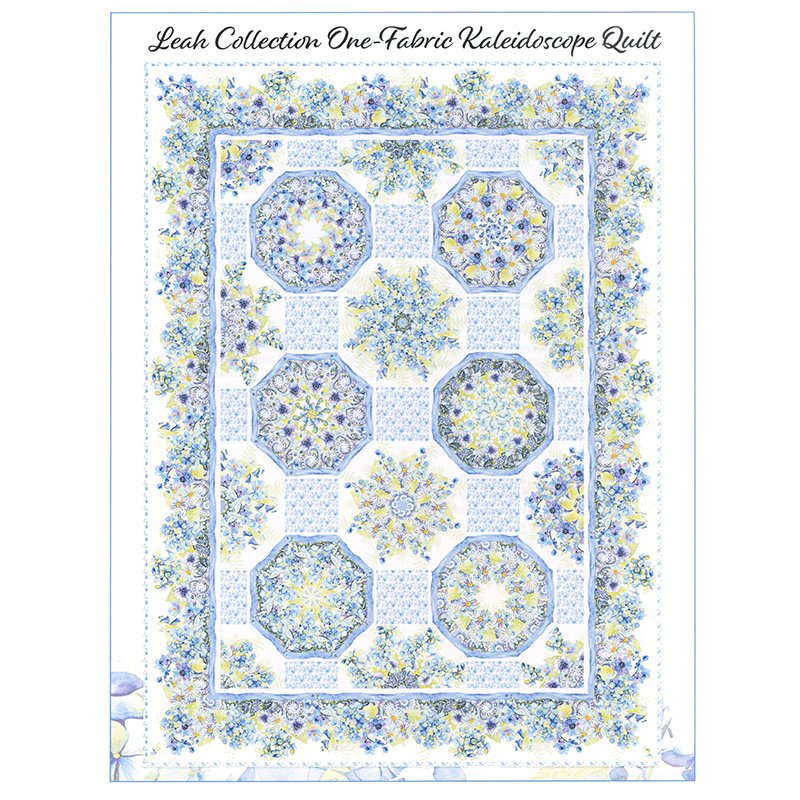 Leah Kaleidoscope Quilt Kit