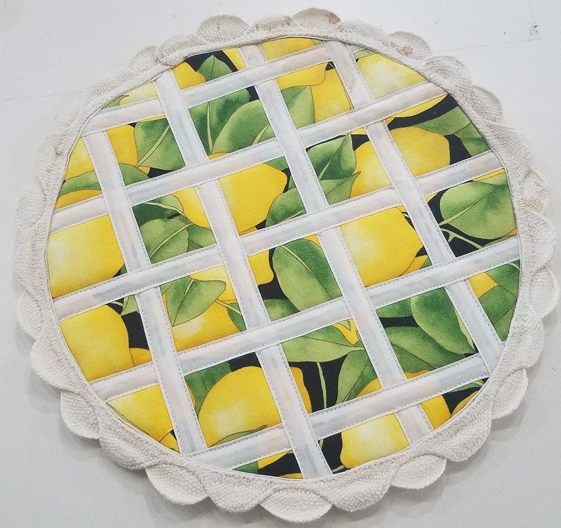 Hot Pad Pie Kit -Lemon
