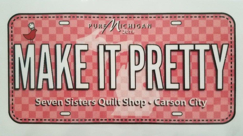 Fabric Plate - Make It Pretty