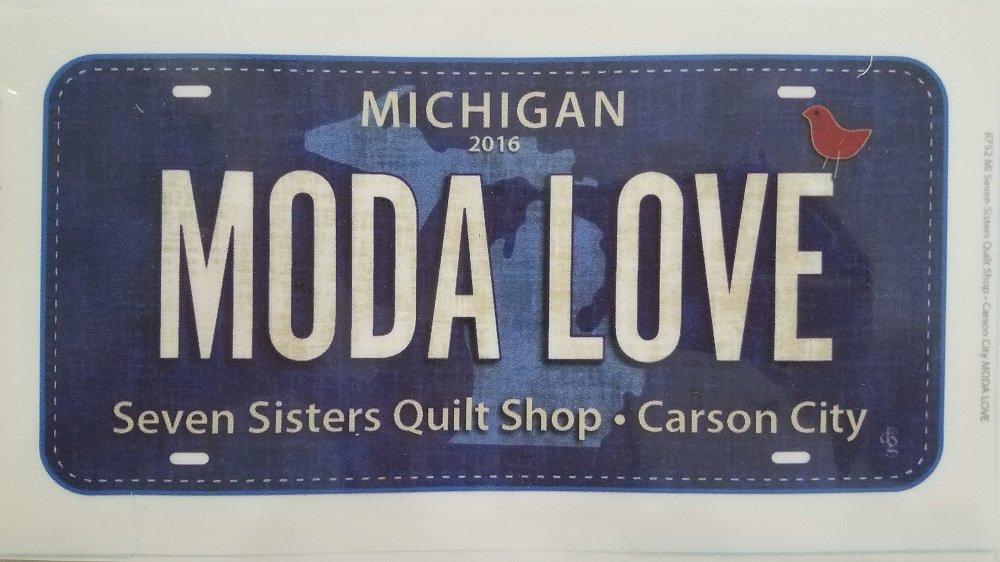 Fabric Plate - Moda Love