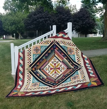 Our Own Vintage Farmhouse Pattern with Panel
