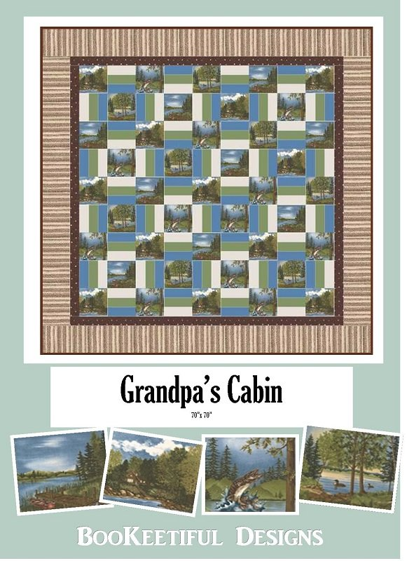 Grandpa's Cabin Fabric Kit