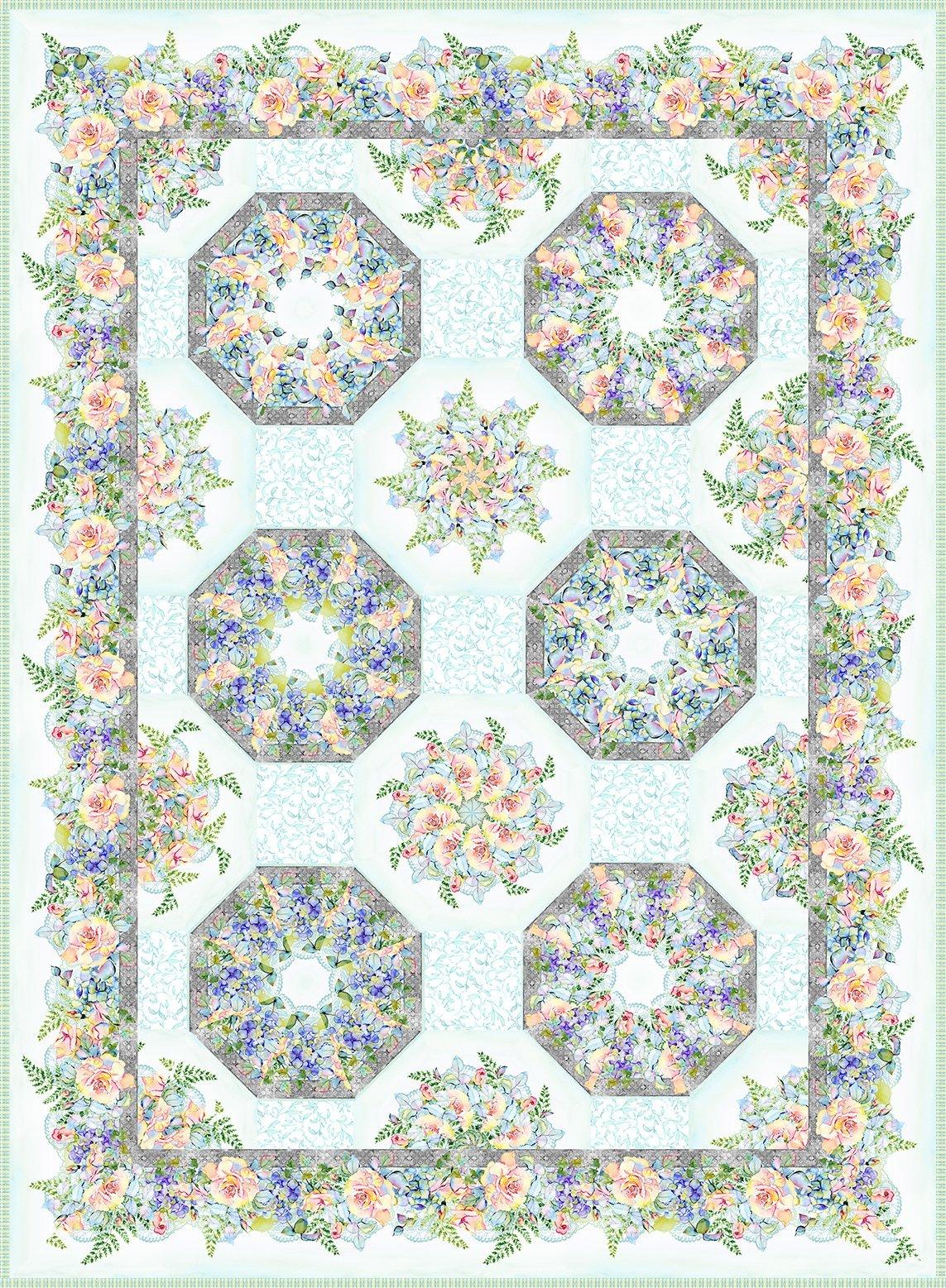 Patricia Kaleidoscope  Kit 64 x 86.5