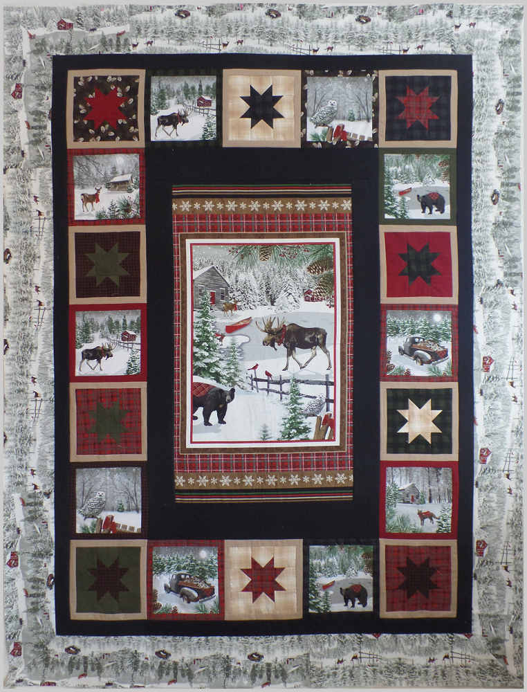 Rustic Charm Fabric Kit (Flannel) With Pattern