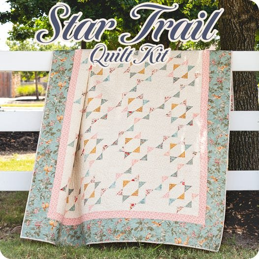 Star Trail Quilt Kit (Lap)
