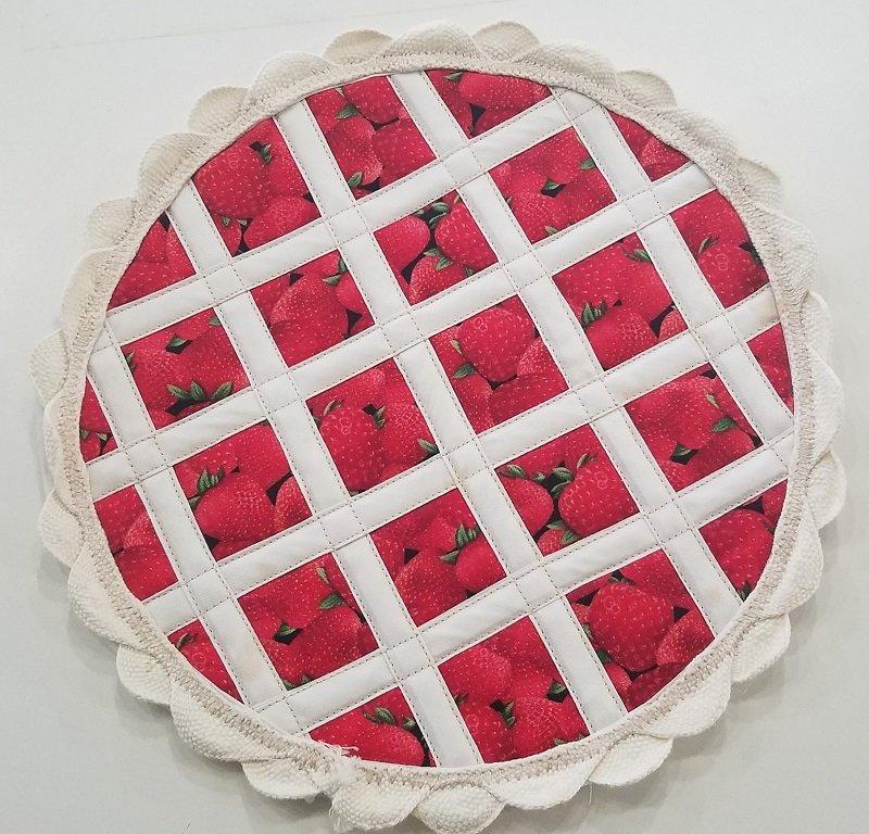 Hot Pad Pie Kit - Strawberry