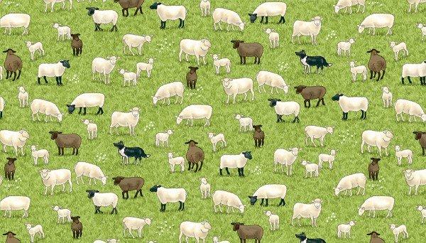 Village Life Sheep
