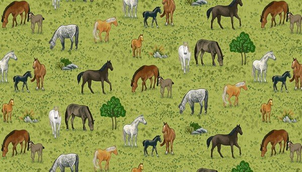 Village Life Horses