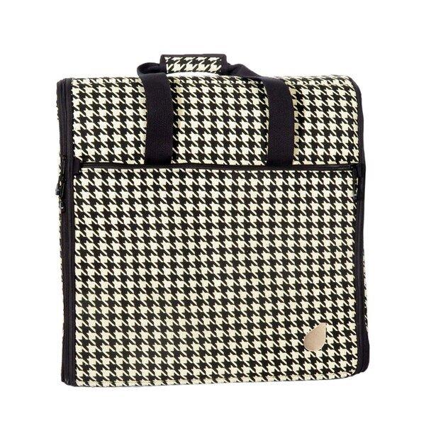 BlueFig Embroidery Arm Travel Bag in Ebony