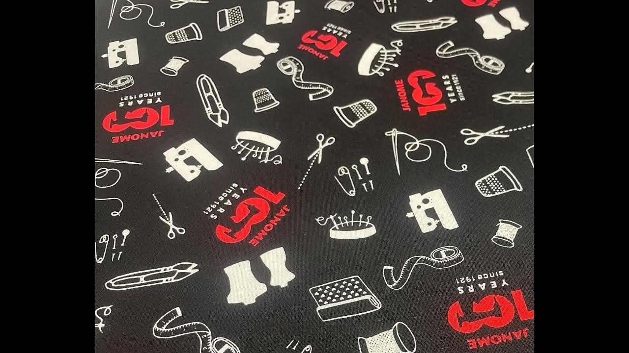 100TH Anniversary Janome Fabric