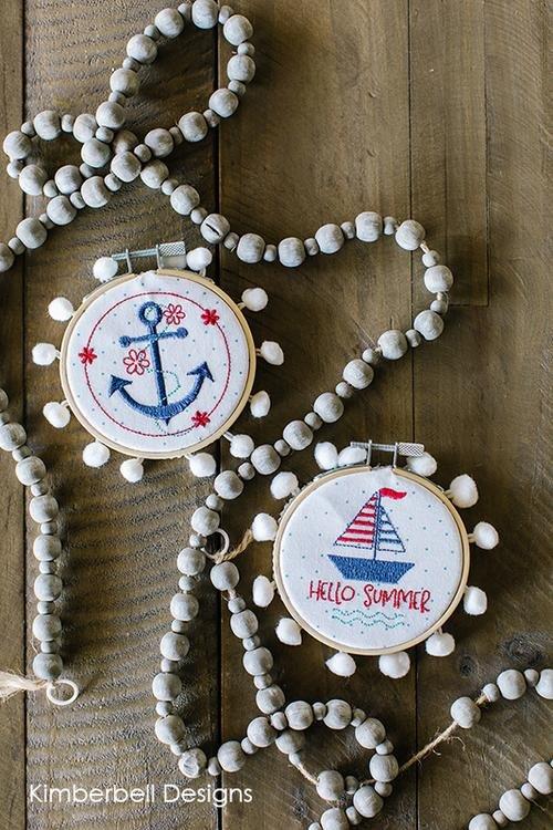Nautical Hoops June