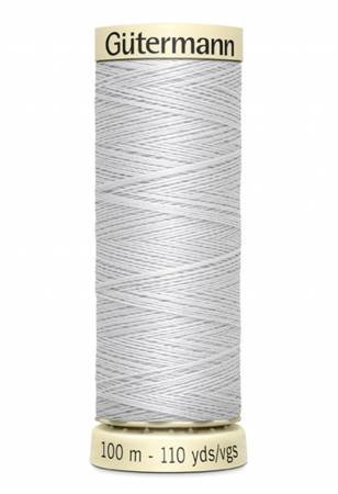 Sew-all Polyester All Purpose Thread 100m/109yds Silver