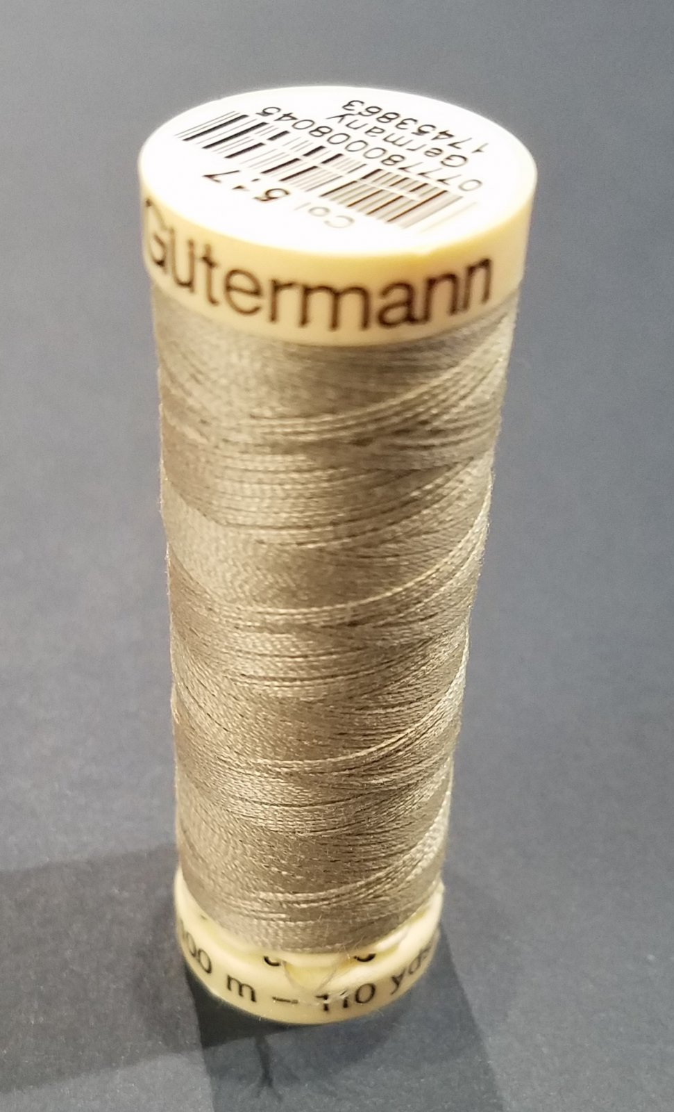 Sew-all Polyester All Purpose Thread 100m/109yds Nickel