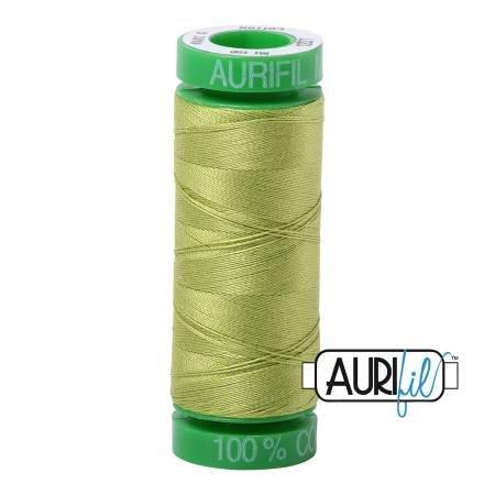 Aurifil Mako Cotton Thread 40wt 164yds Spring Green