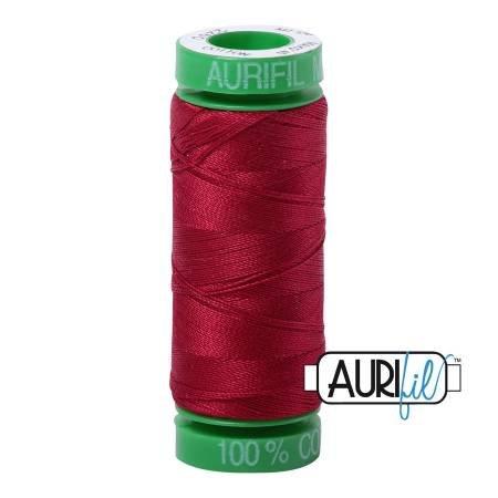 Aurifil Mako Cotton Thread 40wt 164yds Red Wine