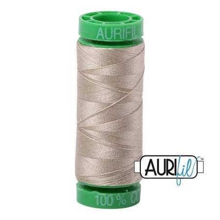 Aurifil Mako Cotton Thread 40wt 164yds Stone
