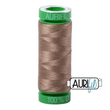 Aurifil Mako Cotton Thread 40wt 164yds Sandstone