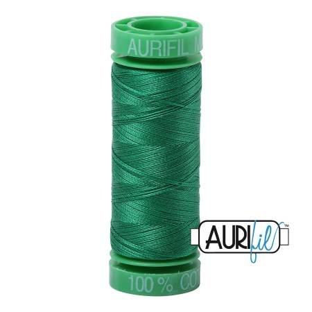 Aurifil Mako Cotton Thread 40wt 164yds Green