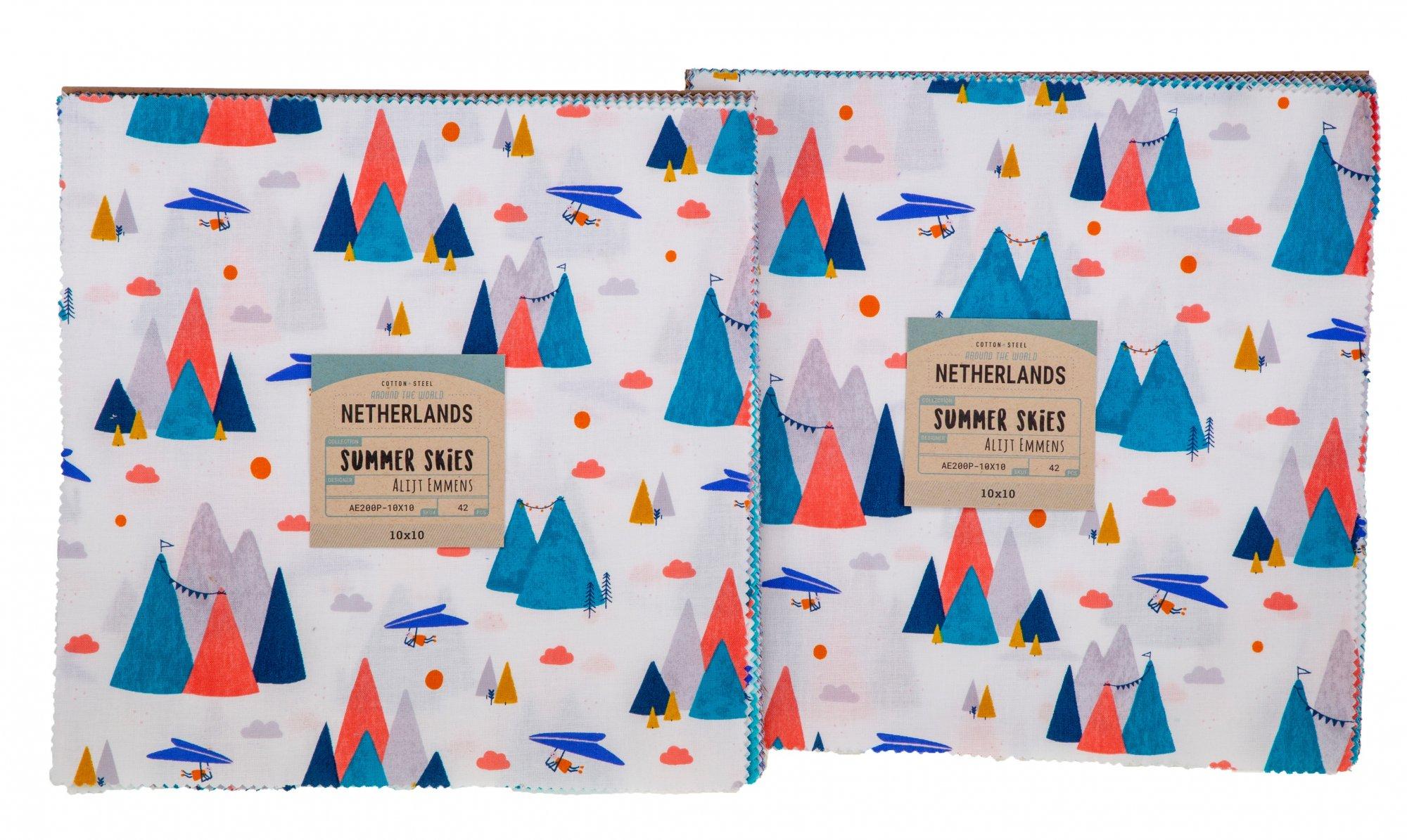 Summer Skies 10x10 Pack 42pcs