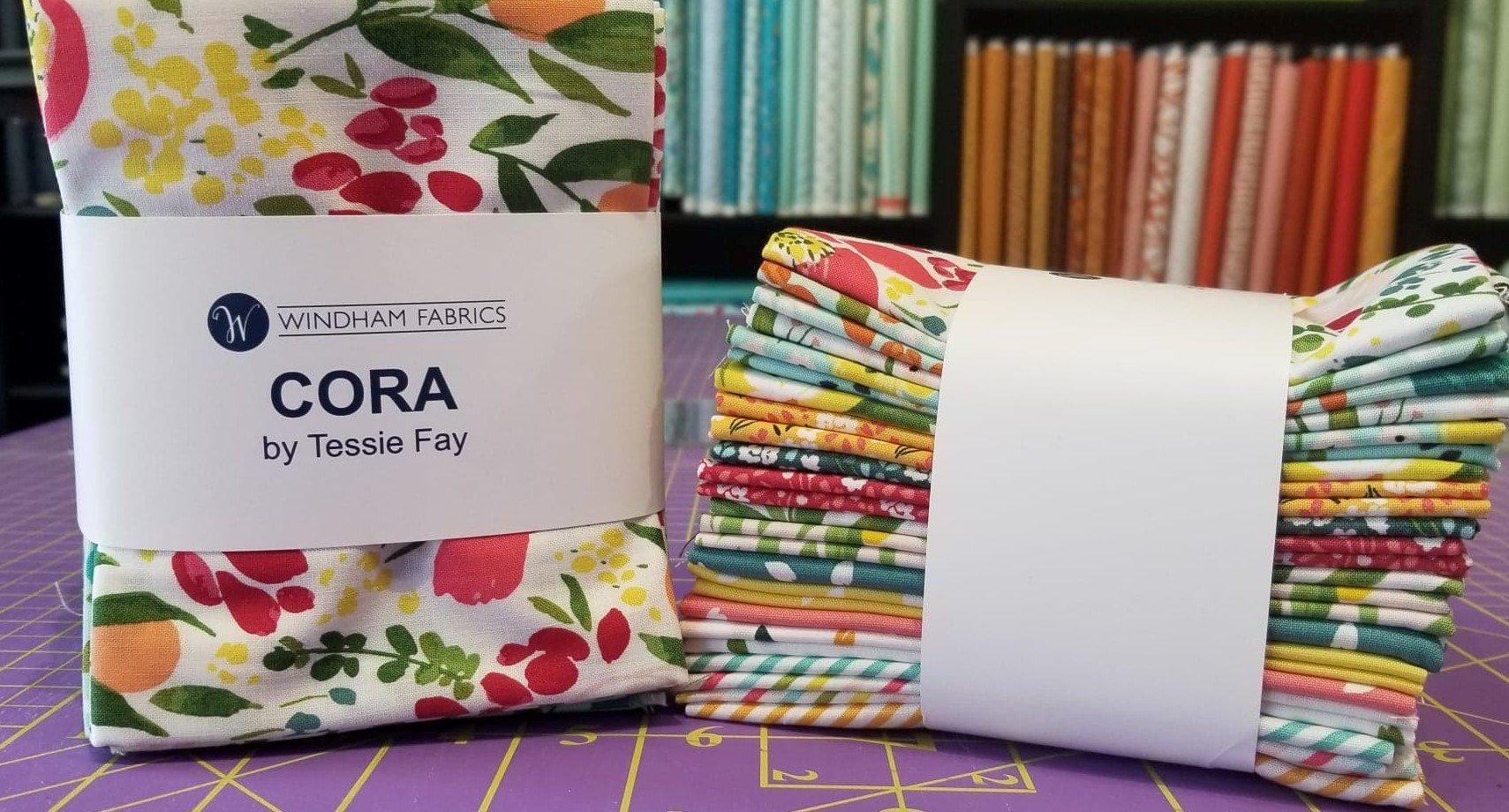 Cora Fat Quarter Bundle, 17pcs