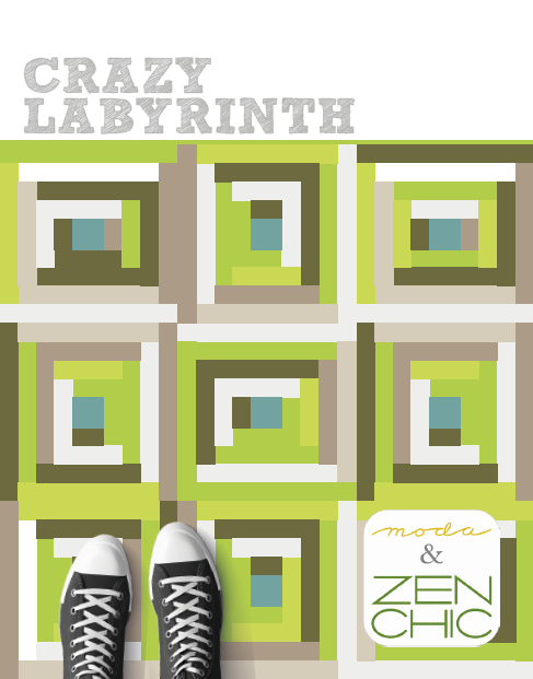Crazy Labyrinth Pattern Free Download