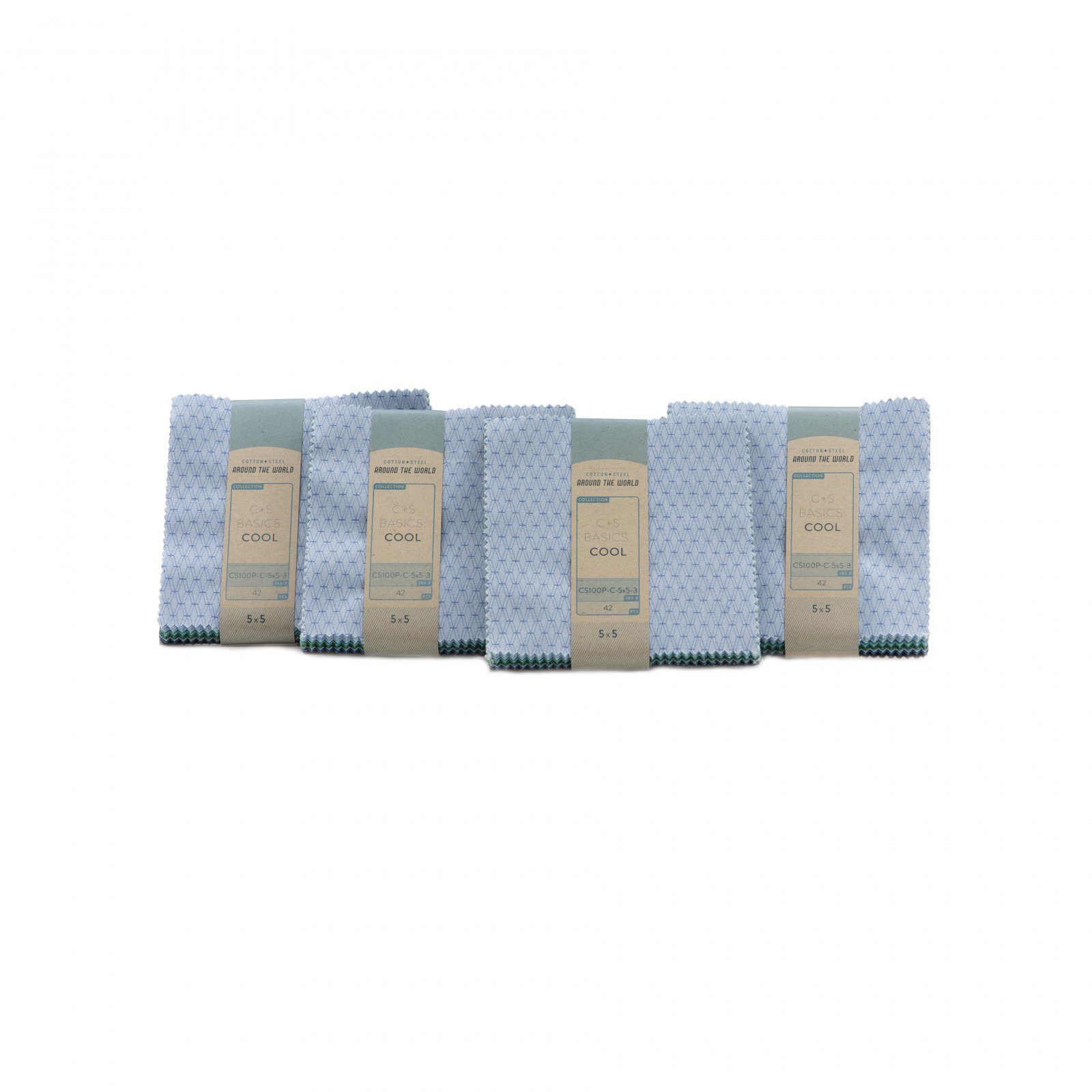 Cotton+Steel Basics Cool 5x5 Pack, 42pcs