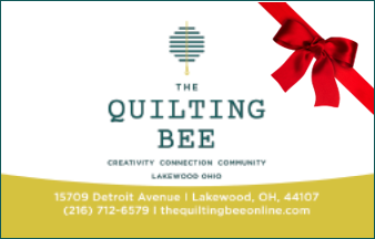 The Quilting Bee Gift Card (physical)