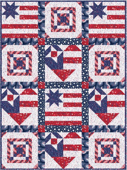 Hey Hey USA Pattern Free Download