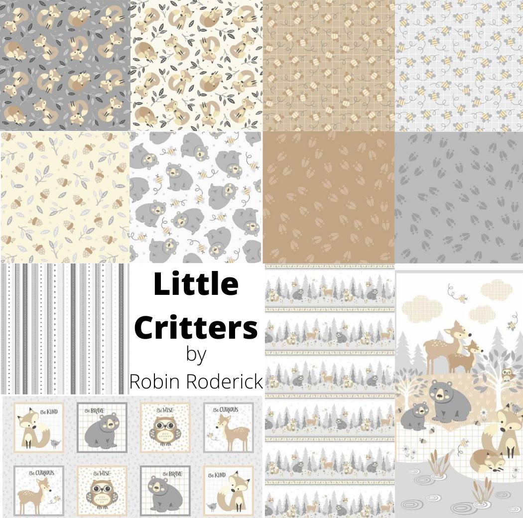 Little Critters Fat Quarter Bundle (10pcs) with panels