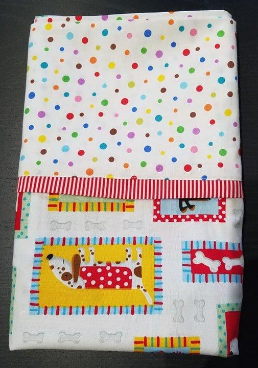 Pillowcase Kit - Doggies & Polka Dots