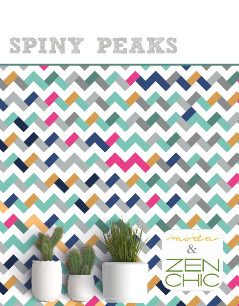 Spiny Peaks Pattern Free Download