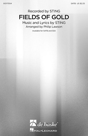 Fields of Gold   Sting   Arranged by Philip Lawson