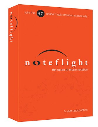 Noteflight | 5-Year Subscription (Retail Box)