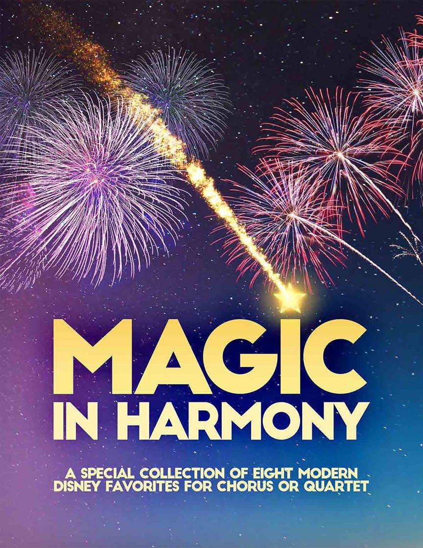 Magic In Harmony Songbook | Barbershop Harmony Society | arr. Wayne Grimmer, Jon Nicholas, Theo Hicks, Mike Menefee