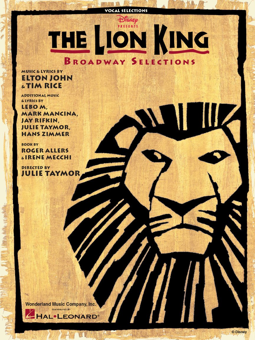 Lion King, The | Vocal Selections