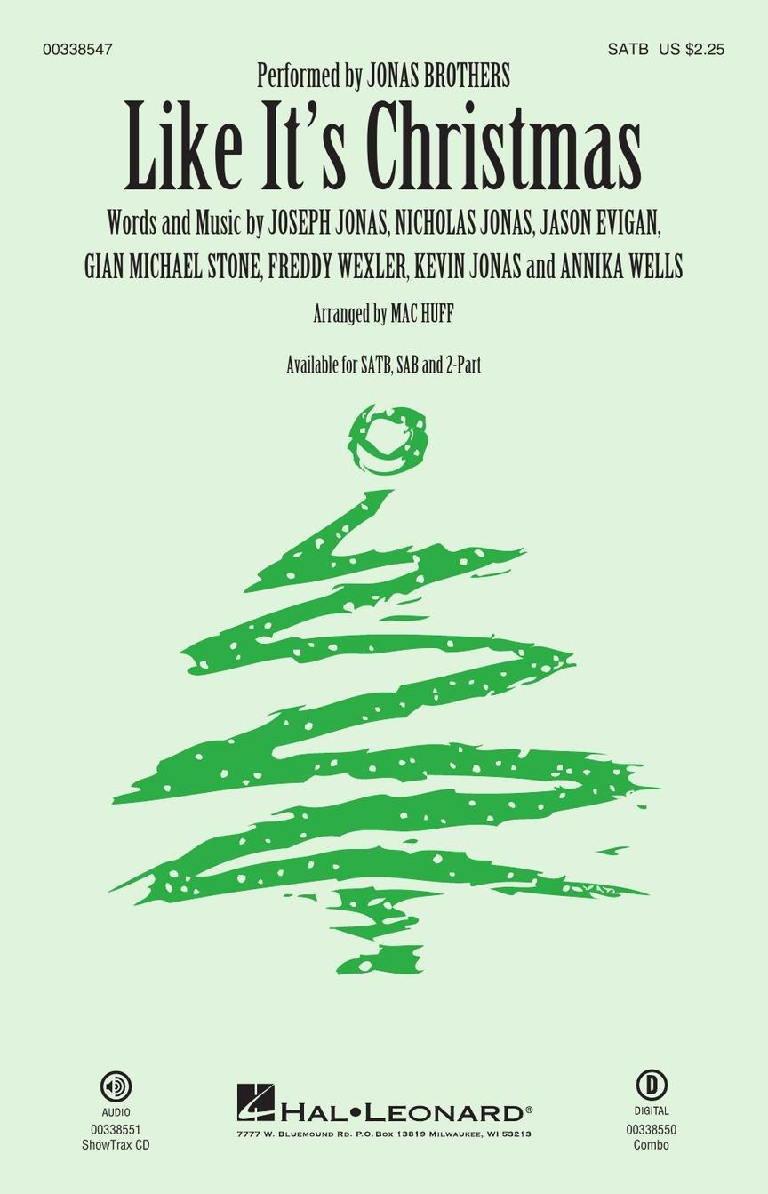 Like It's Christmas | Jonas Brothers | arr. Mac Huff