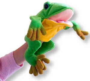 Freddie The Frog Teacher's Puppet