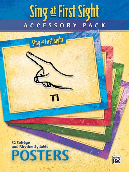 Sing at First Sight Accessory Pack | 32 Solfege and Rhythm Syllable Posters