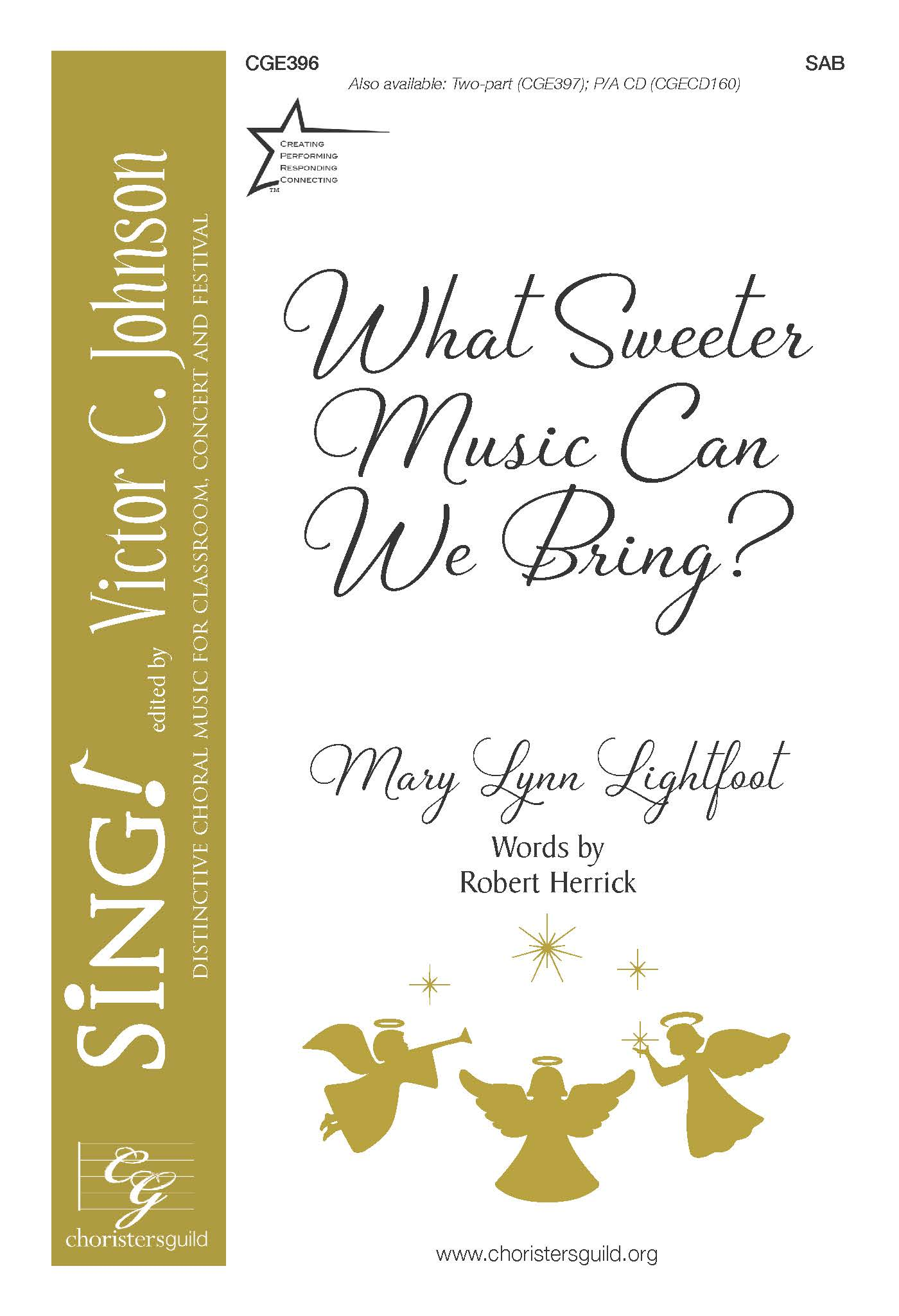 What Sweeter Music Can We Bring? | Mary Lynn Lightfoot